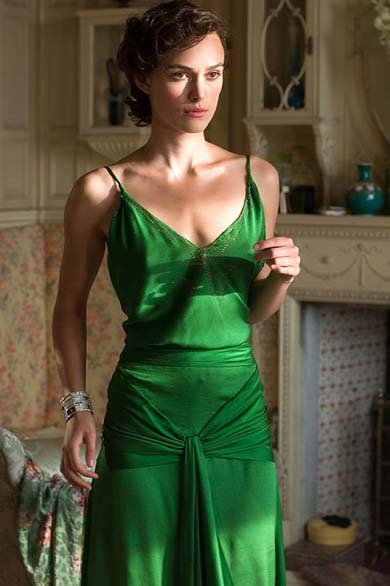 Keira Knightley's Atonement dress voted best film costume – Lucire